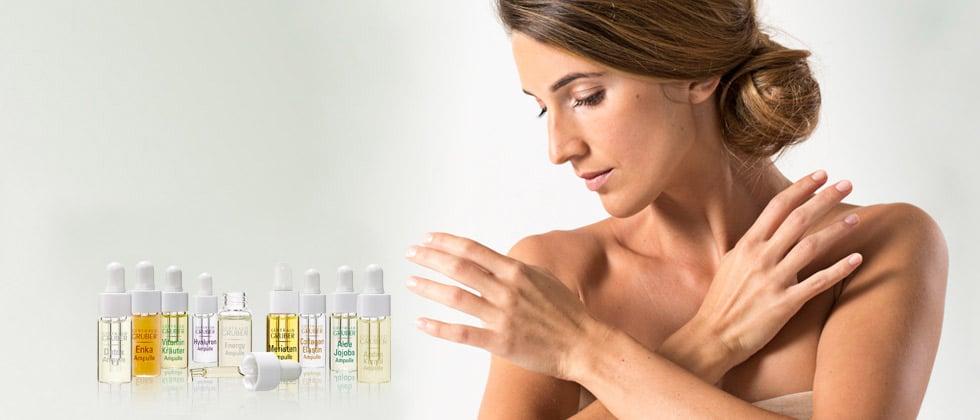 © Gertraud Gruber Kosmetik - multifunktionale phytoaktive Wirkstoffampullen