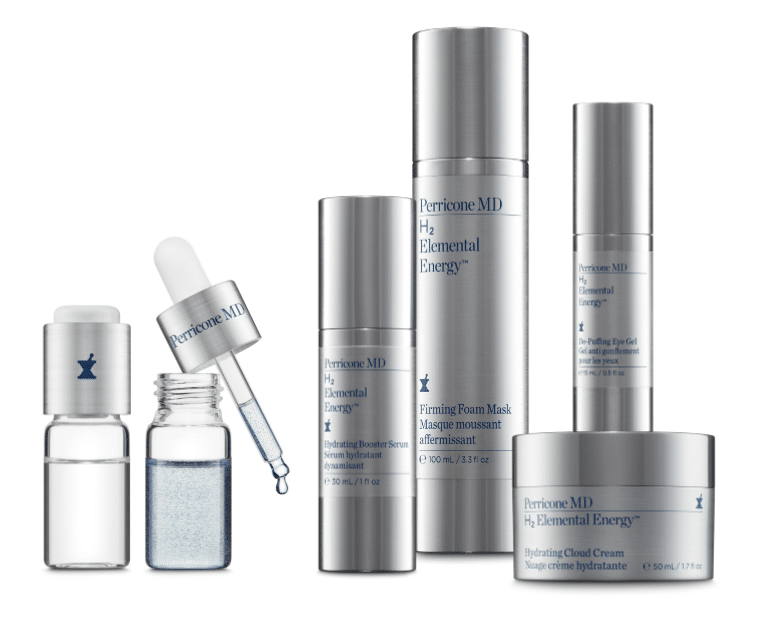 © PERRICONE MD Skincare H2 Elemental Energy Collection