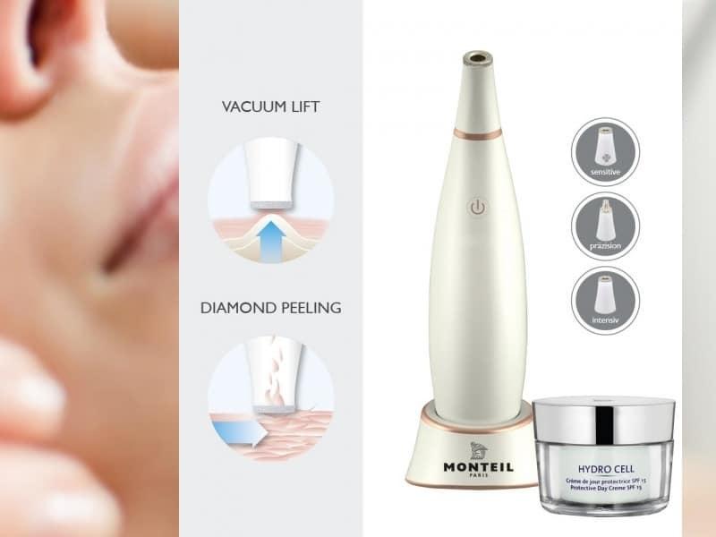 MONTEIL Diamond Home Microderm – Anti-Age-Peeling für Heimanwender