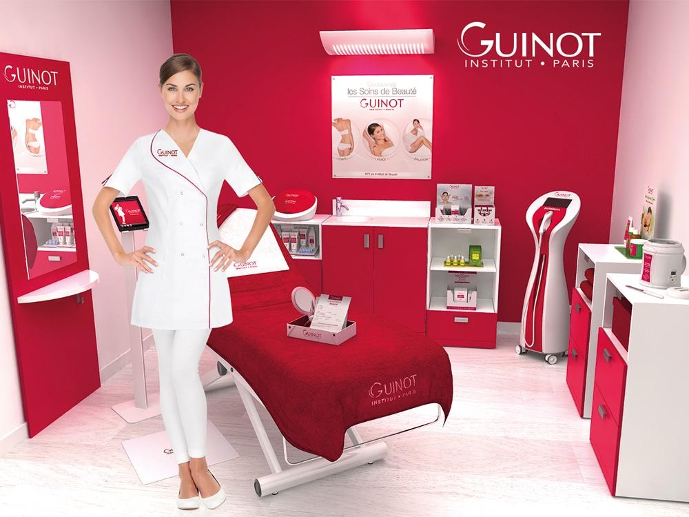 © GUINOT Institut Paris - führende Hautexpertise aus der Pharmazie, Medizin und Kosmetikindustrie
