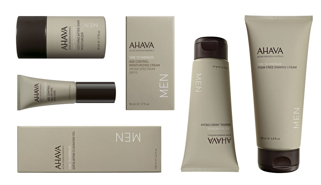 © AHAVA MEN Time to Energize Collection
