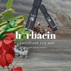 © Herbacin Camouflage for men - vegane Naturkosmetik für Haut und Haare