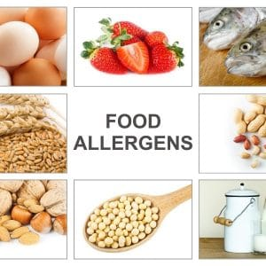 Spezialdiät bei Nahrungsmittelintoleranz unter striktem Verzicht des Auslösers