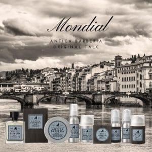 © MONDIAL ANTICA BARBERIA Original Talc - aquatisch und aromatisch mediterran für Haut und Barthaar