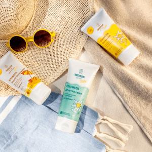 © Weleda Edelweiß Sensitiv Sonnenkosmetik für empfindliche Haut