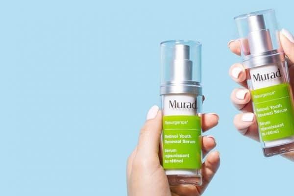 © Murad Skincare Resurgence - dreifach wirksame und wegweisende Retinol-Technologie aus der Hautforschung