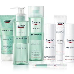 © DERMOPURE von Eucerin - normalisierende Tiefenkonzentrate bei Unreinheiten und Akne