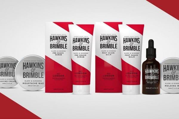 © Hawkins & Brimble London - Männerpflege von Kopf bis Fuß mit Modern Retro-Touch