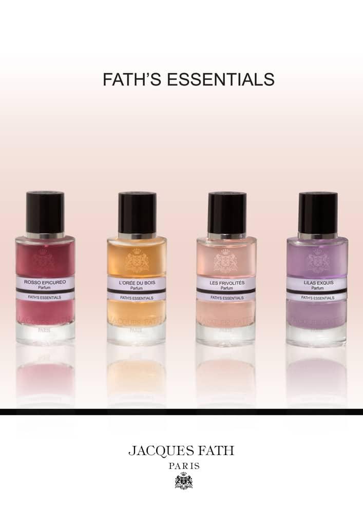 © Jacques Fath Fath's Essentials Damenkollektion by Luca Maffei - italienische Parfümsignatur trifft auf französische Allure