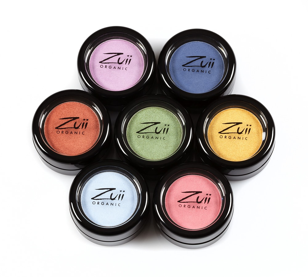 © ZUII ORGANIC Flora Mono Eyeshadow Collection