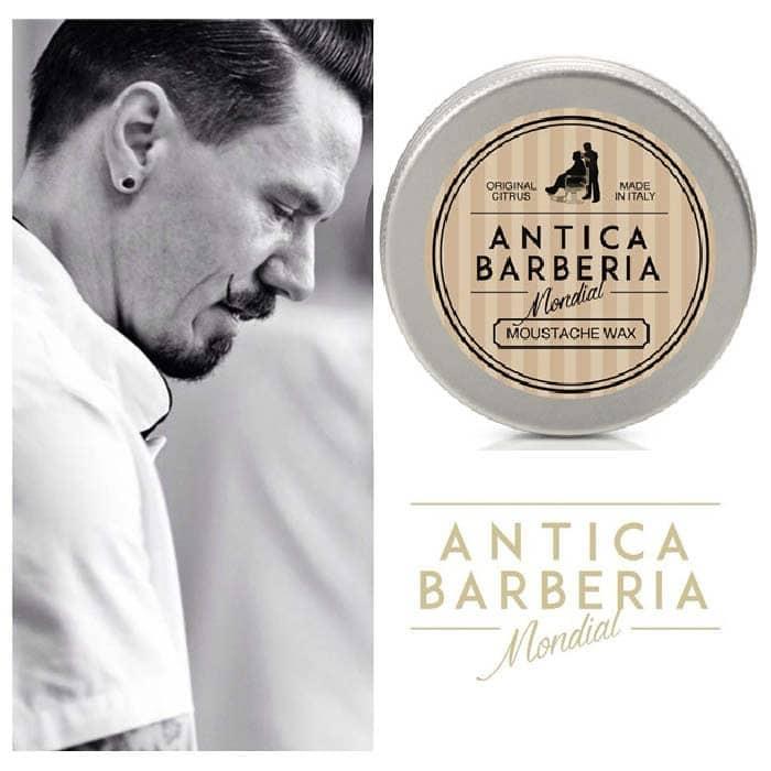 © MONDIAL ANTICA BARBERIA Original Citrus Moustache Wax