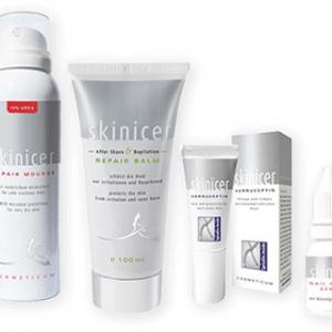 © skinicer REPAIR CARE - anti-virale und anti-mikrobielle Pflegehelfer bei extrem trockener und fettiger Problemhaut
