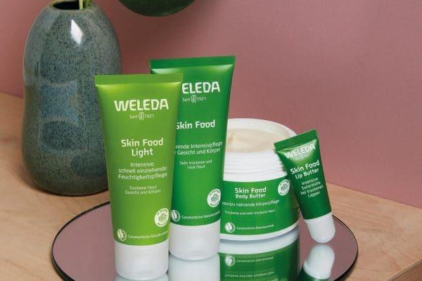 © Weleda/ Foto obs/ Weleda AG Skin Food - aromatische Green-Power mit Kamille und Stiefmütterchen