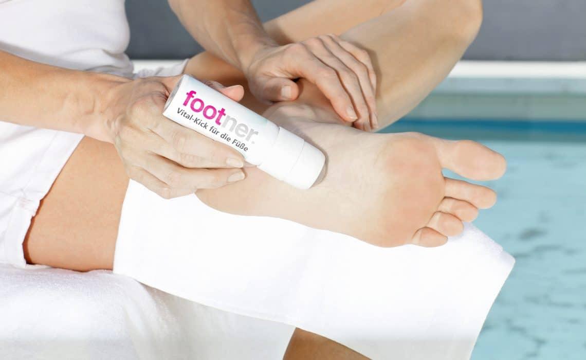 Happy Feet mit Footner Vital-Kick