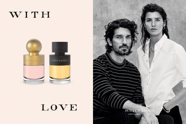 © SCOTCH & SODA WITH LOVE - New Romance in Puderrosa und Cognacbraun