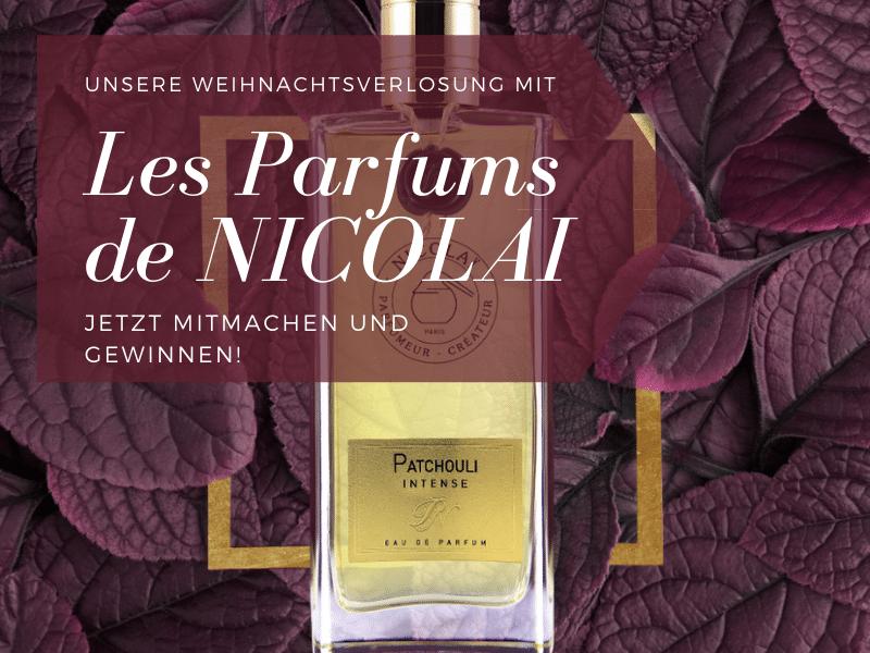 Unsere Weihnachtsverlosung mit Les Parfums de NICOLAÏ