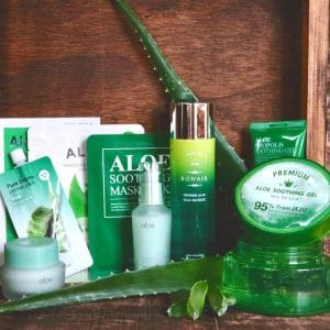 © Korean Beauty Box Aloe Vera - vier koreanische Trendbrands mit Green Nature-Anspruch in einer Box-Kollektion
