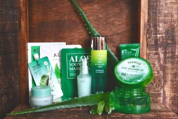© Korean Beauty Box Aloe Vera - vier koreanische Trendbrands mit Green Nature-Anspruch in einer Box-Kollektion