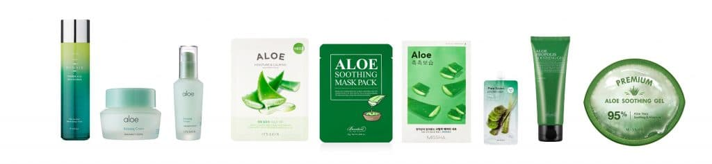 © Korean Beauty Box Aloe Vera