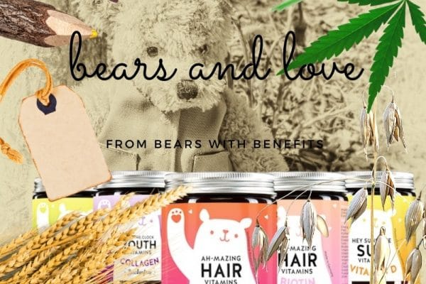 © BEARS WITH BENEFITS - bunte, vegane Fruchtgummis mit Vitamin-Kick