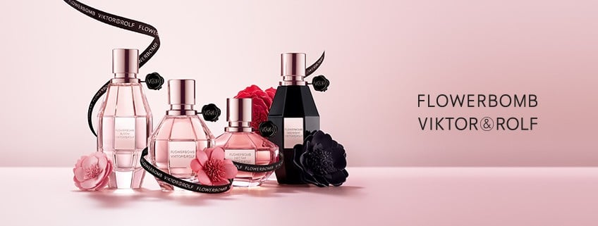 © Viktor & Rolf Perfumes FLOWERBOMB Collection