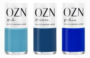 © OZN Lack-Trio im Set DON'T FEEL BLUE