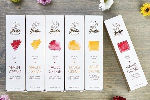 © Jasha Cosmetic Mature Skin - ein exotischer Detox-Superfood-Cocktail für anspruchsvolle Hautbedürfnisse
