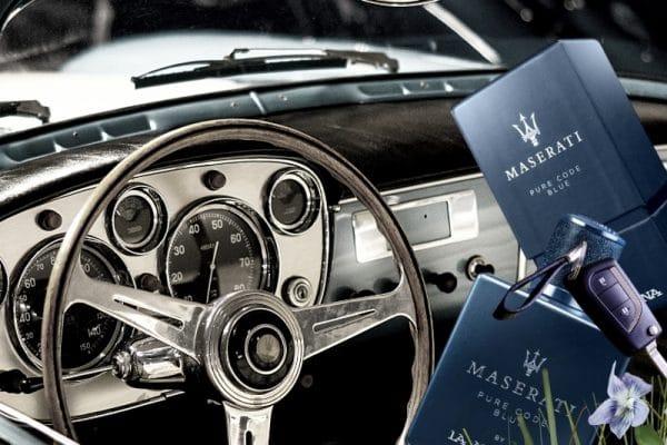 © Maserati PURE CODE BLUE - rasant sportiv und maritim mit Apfel, Veilchen und Vetiver