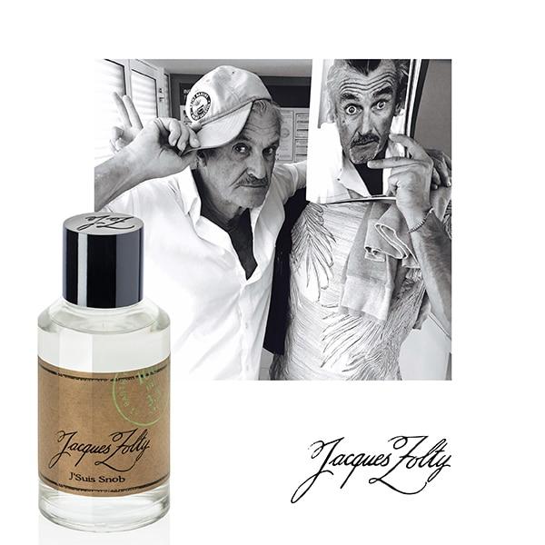 © Jacques Zolty Parfums SAINT BARTH Collection - privater Schnappschuss mit J'SUIS SNOB