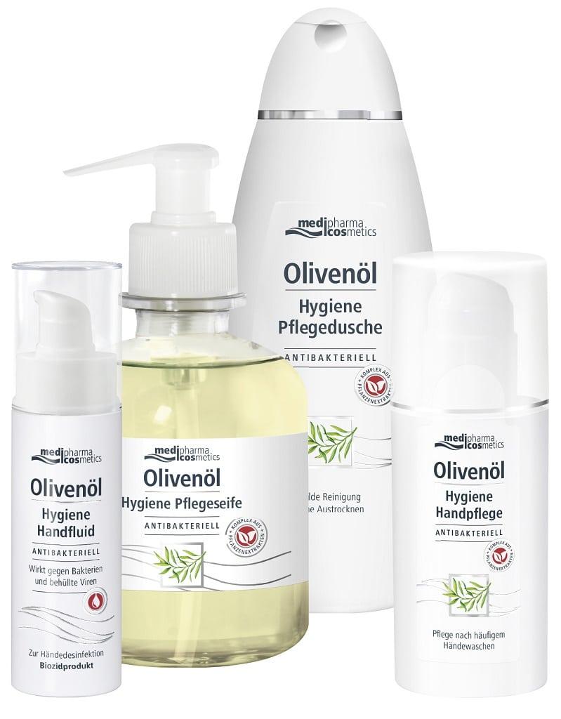 © medipharma cosmetics Olivenöl Hygiene Serie