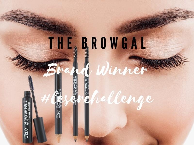 Markenfavorit und Brand Star The BrowGal ist der Gewinner-Beitrag unserer just me & beauty #leserchallenge