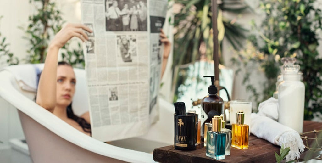 RAAW By Trice – Beauty Drops unter dem Palmbaum