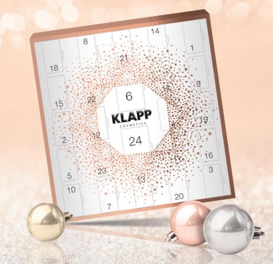 © KLAPP Cosmetics Adventskalender 2020