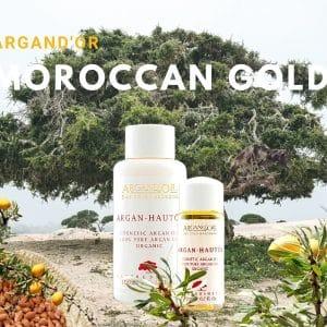 © ARGAND'OR Cosmetic - erlesenes Bio-Argan-Hautöl aus dem marokkanischen Biosphärenreservat Arganeraie