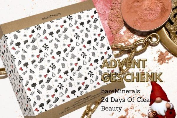 © bareMinerals Adventskalender 2020: 24 Days Of Clean Beauty