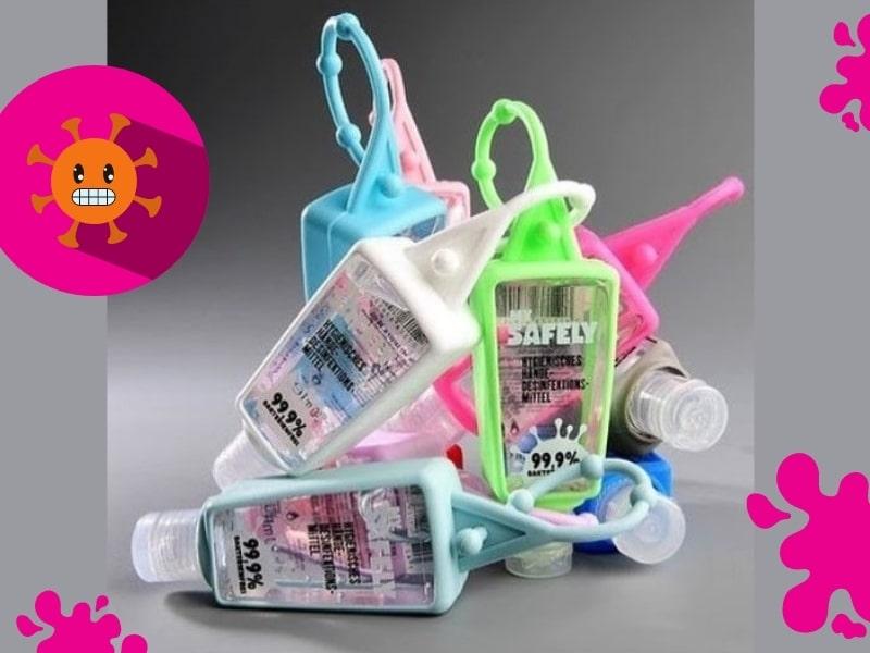© MY SAFELY Hygiene-Kollektion in farbenfrohen Pop Art-Designs