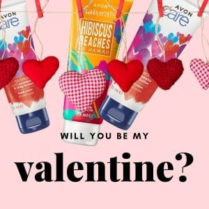 © AVON Care Radiant & Naturals - herzige Beauty Shots zum Valentinstag