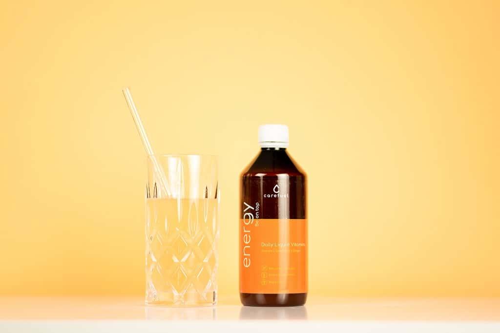 © carefuel Daily Liquid Vitamins ENERGY fruchtig-herber Geschmack mit Acerolakirsche und Grapefruit