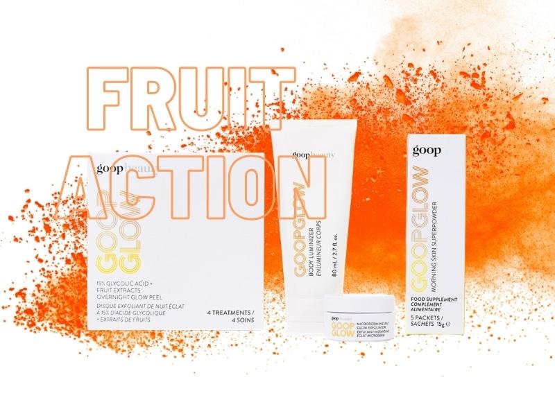 © goop BEAUTY GLOW - frische Strahlkraft mit Vitaminen, Glykolsäure und Mineralien